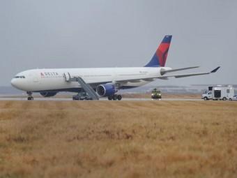 A-330 Delta-Northwest Airlines в аэропорту Детройта
