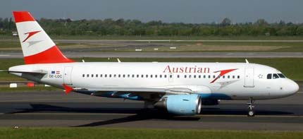 Airbus-A319 Austrian Airlines