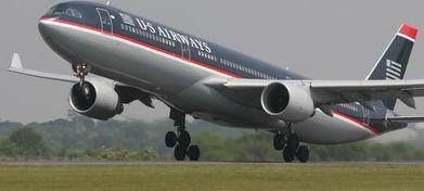 Самолет авиакомпании US Airways