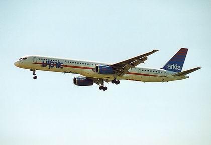 Самолет авиакомпании Arkia