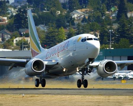 Боинг 747 эфиопской авиакомпании упал в Средиземное море