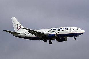 Boeing-737 компании Оренбургские авиалинии