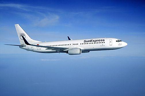 Самолет авиакомпании SunExpress