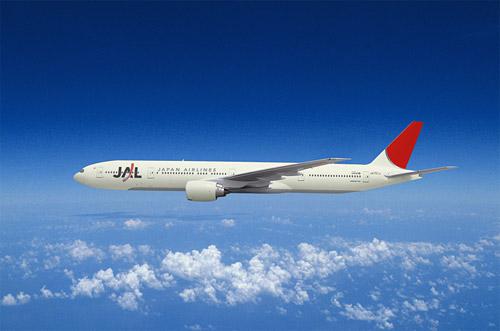 Boeing 777 авиакомпании Japan Airlines