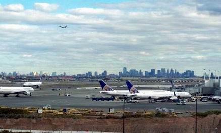 Международный аэропорт Newark Liberty в Нью-Джерси