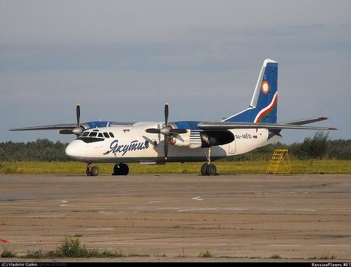 Ан-24 при взлете потерпел крушение в Якутске