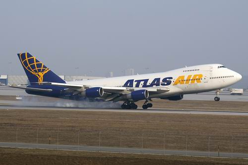 Boeing 747 авиакомпании Atlas Air