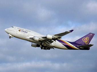 Boeing 747 авиакомпании Thai Airways
