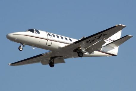 Легкий самолет Cessna Citation 550