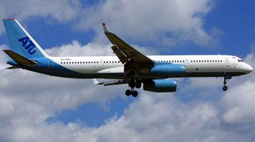 Самолет Ту-204 авиакомпании Авиастар-Ту