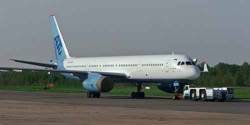 Самолет Ту-204 разбился в 1 км от Домодедово