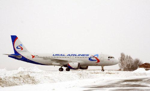Уральские Авиалинии получили еще один Airbus A320