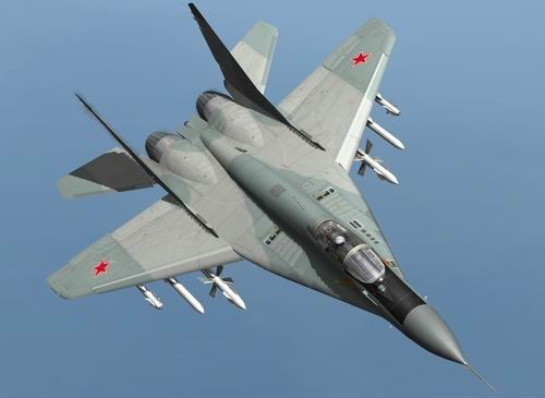 В небе над Белоруссией столкнулись два истребителя МиГ-29