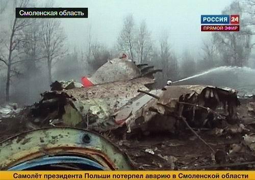 Потерпел крушение Ту-154 президента Польши