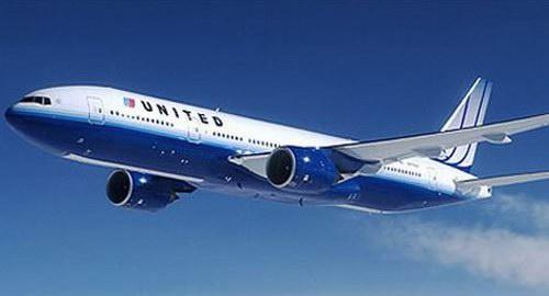 Беспорядок на борту самолета United Airlines