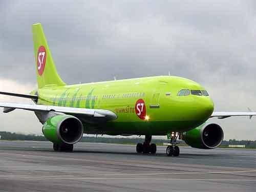 Вынужденная посадка Airbus A-320 в Новосибирске