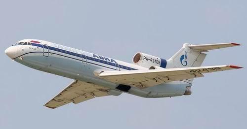 Пассажирский Як-42 вынужденно приземлился в Грозном